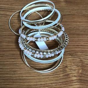 Brand New Sparkly Bangles 13 bracelets